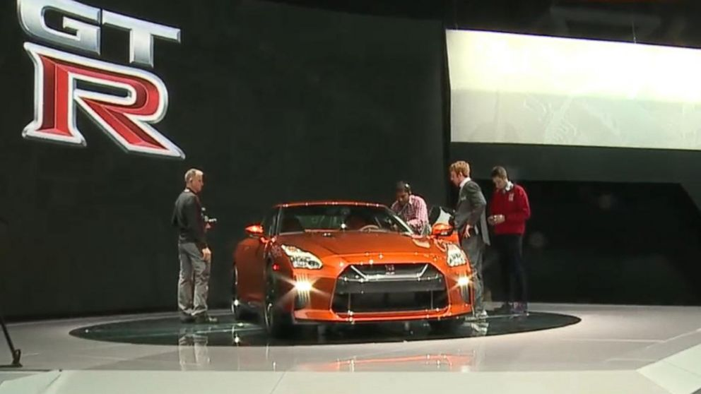 Luxury Cars At New York Auto Show Video