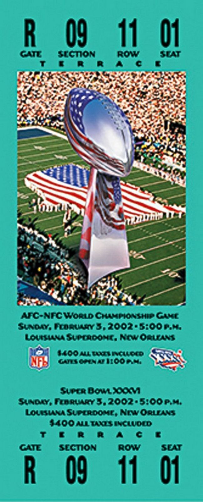 Super Bowl Tickets An Evolution In Photos Picture Super
