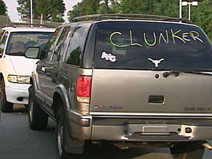 cash for clunkers eligible vehicles does your old car qualify abc news. Black Bedroom Furniture Sets. Home Design Ideas
