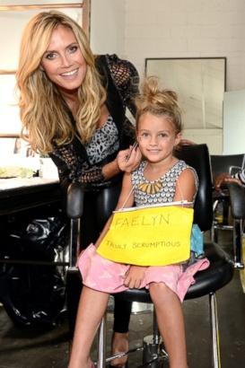 Heidi Klum Presents Kids Fashion Week Picture Heidi Klum