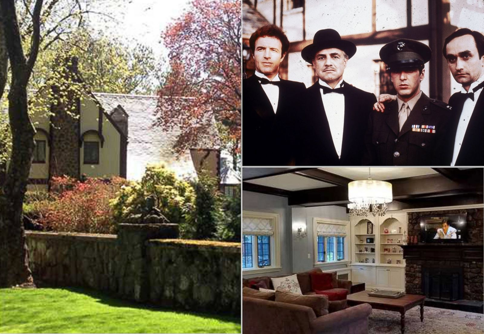 Dog House For Sale >> 'The Godfather' House on Staten Island Is For Sale Picture | Television and Film Homes for Sale ...