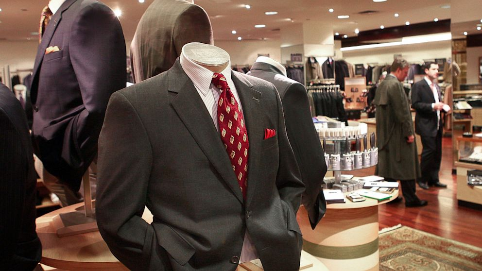 The bank clothing store