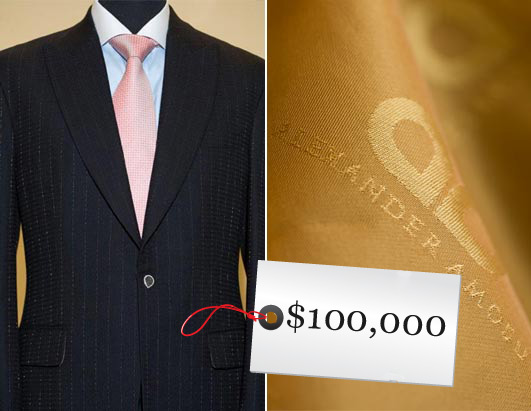 Information world: World's Most Expensive Suits