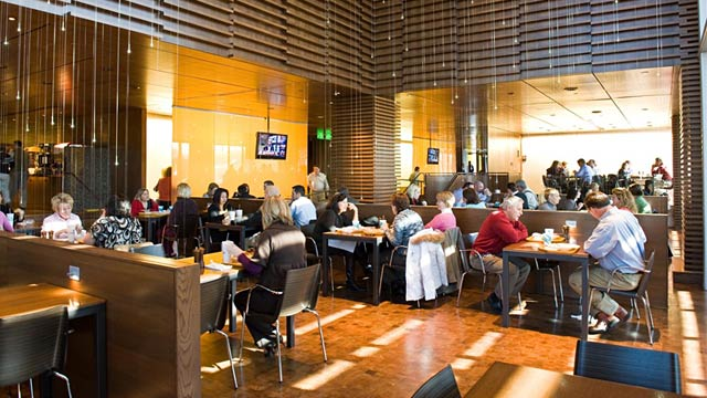 The Top 9 Coolest Company Cafeterias And Food Perks In The