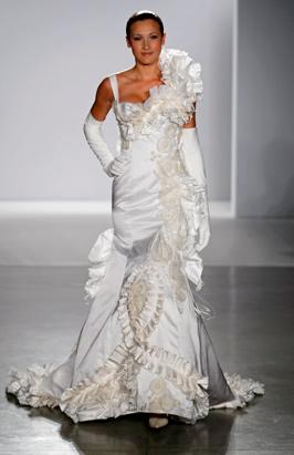 Luxurious Wedding Dresses Photos Abc News