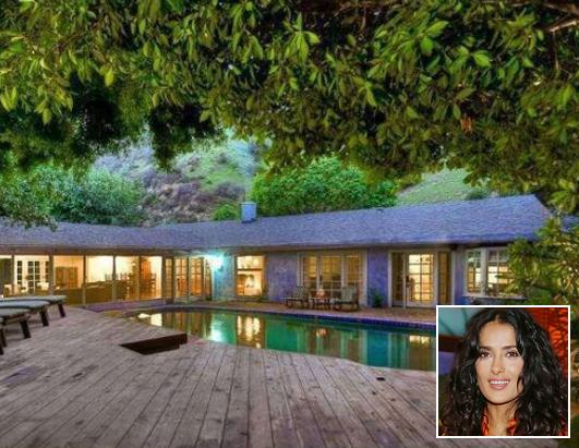 Rent Salma Hayek's Home for $9,500 a Month