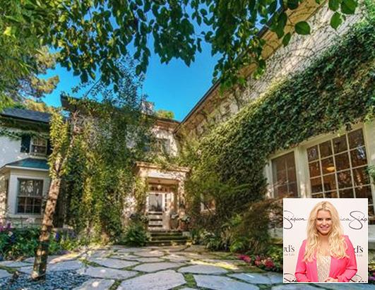 Jessica Simpson sold her 5-bed Beverly Hills home for $6.4 million
