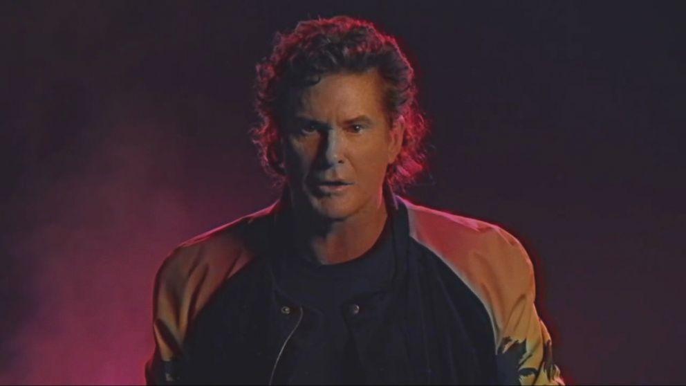 David Hasselhoff's Music Video 'True Survivor' Video - ABC ...