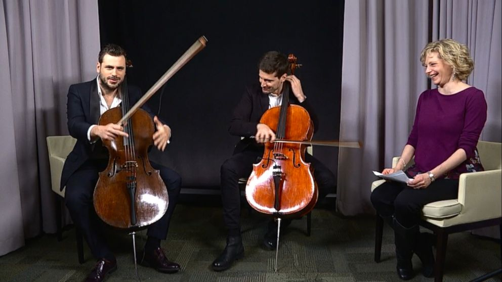 2Cellos dish on the one song they can't cover with cellos ...