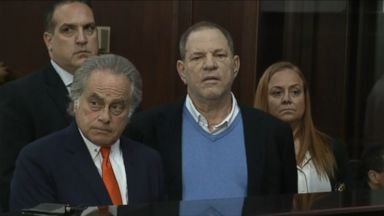 Harvey Weinstein makes first court appearance