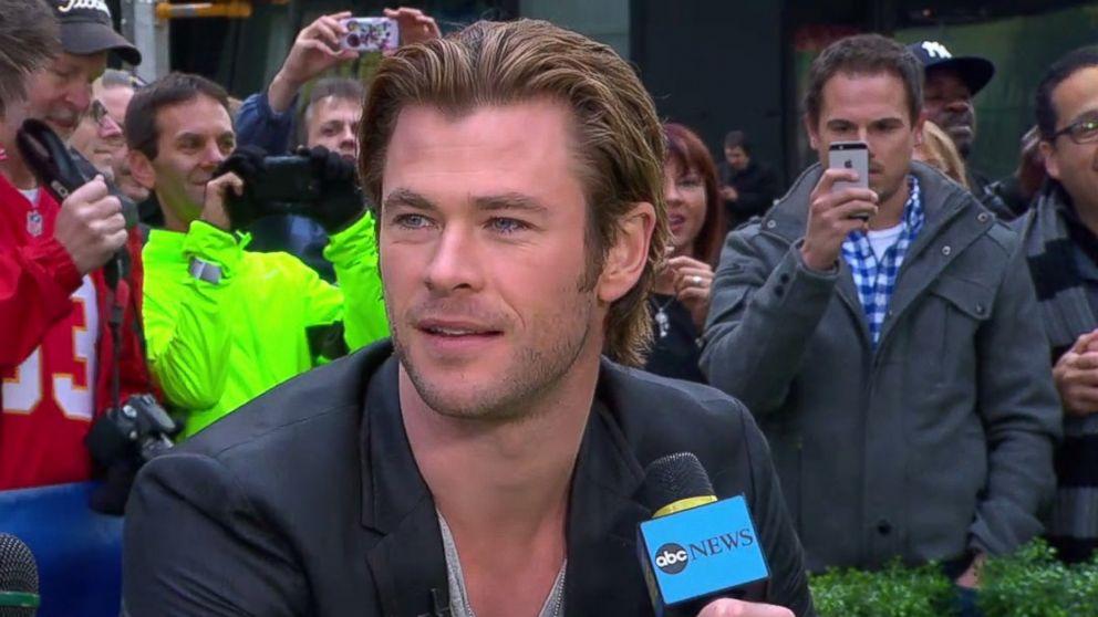 Chris Hemsworth Named People S Sexiest Man Alive 2014