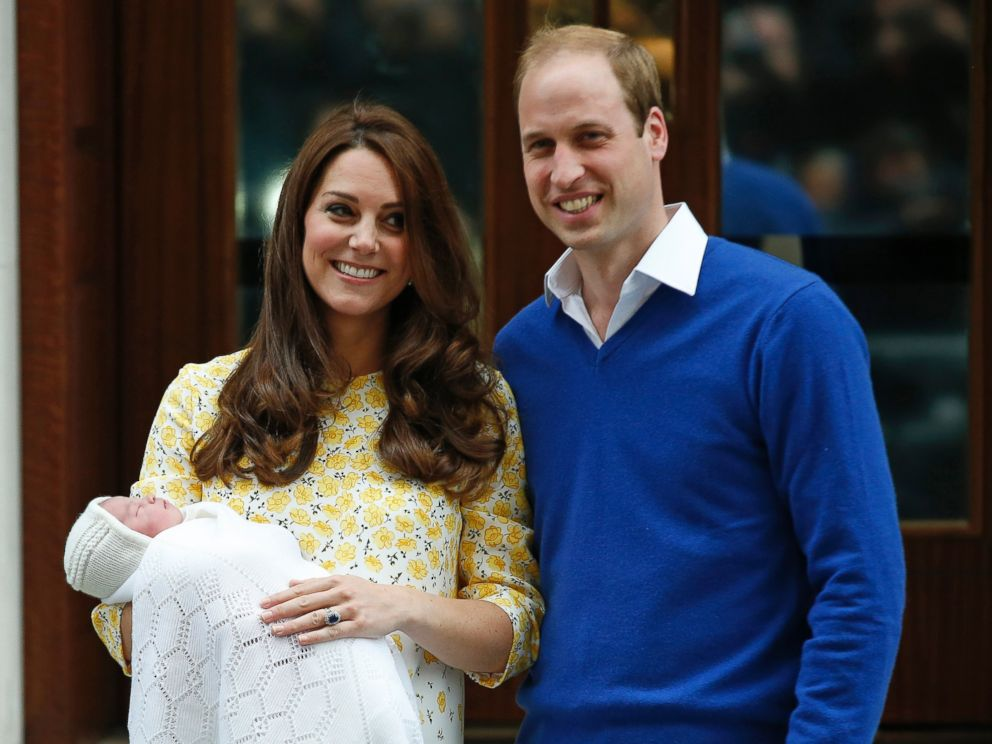 Prince William and Kate Middleton Reveal Their Baby Girl ...