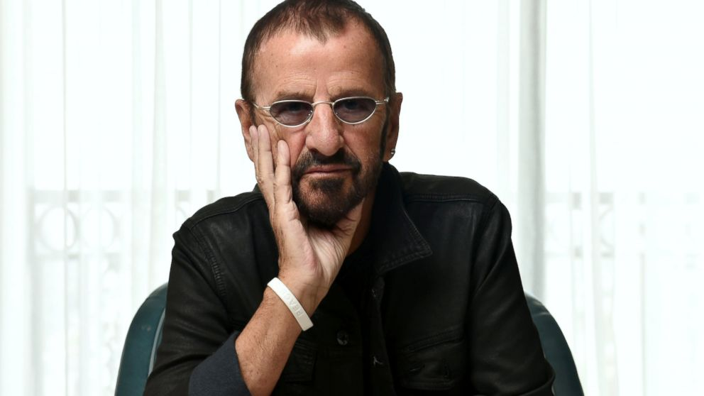 ringo starr news photos and videos abc news. Black Bedroom Furniture Sets. Home Design Ideas