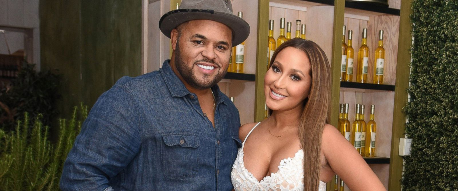Israel Houghton with wife Adrienne Bailon