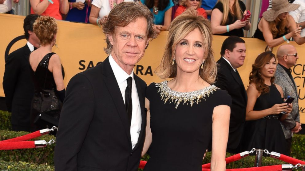 did felicity huffman william macy meet