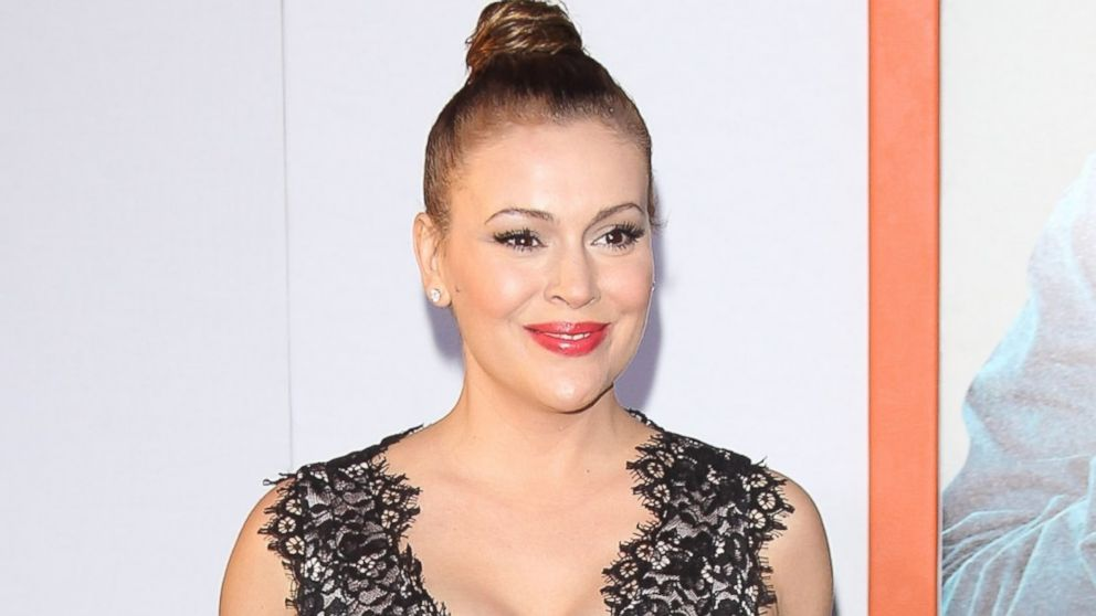 """PHOTO: Alyssa Milano arrives at the """"Get Hard"""" Los Angeles premiere at TCL Chinese Theatre IMAX on March 25, 2015, in Hollywood, Calif."""