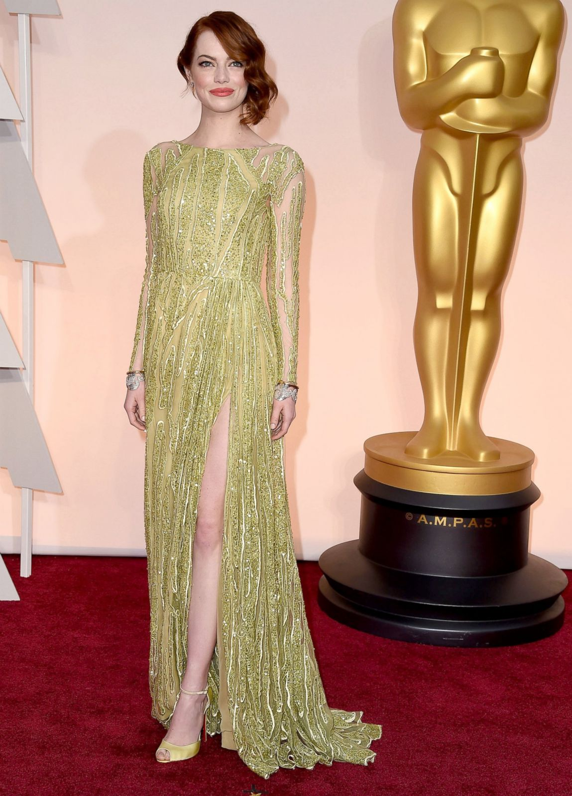 Emma Stone in Elie Saab Picture | Best Oscar dresses ...