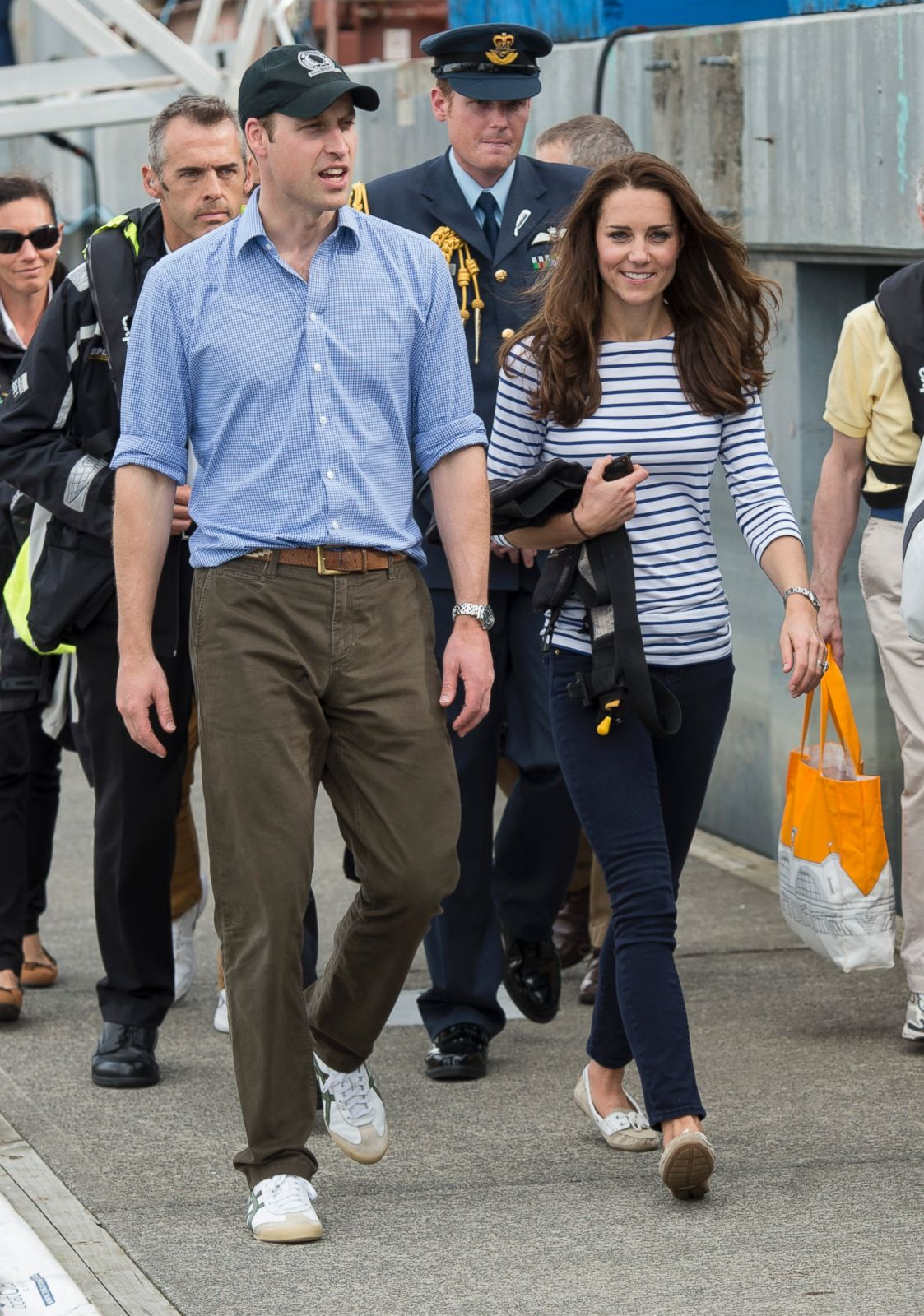 william and kate in new zealand