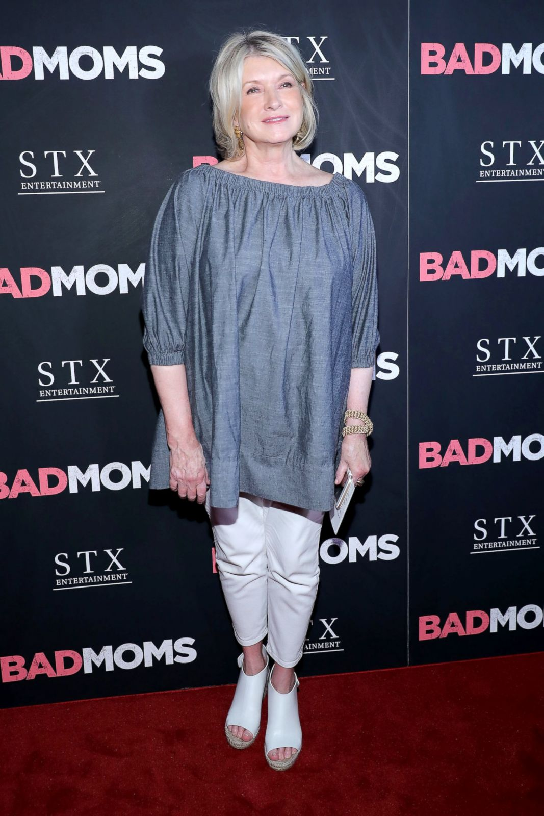 Martha Stewart Hits The Red Carpet In A Billowy Top