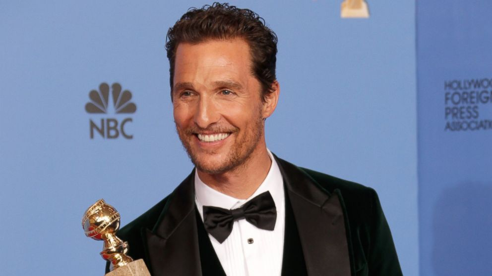 The Sweet Way Matthew McConaughey is Celebrating His Oscar ...
