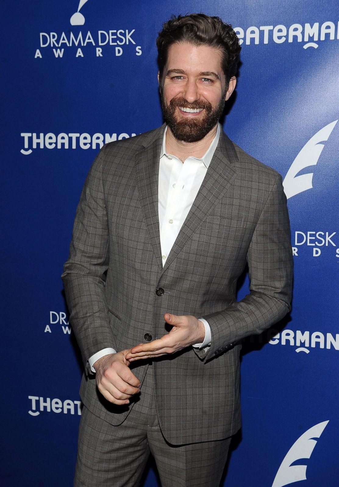 Matthew Morrison Debuts A Fuller Beard Picture Celebs