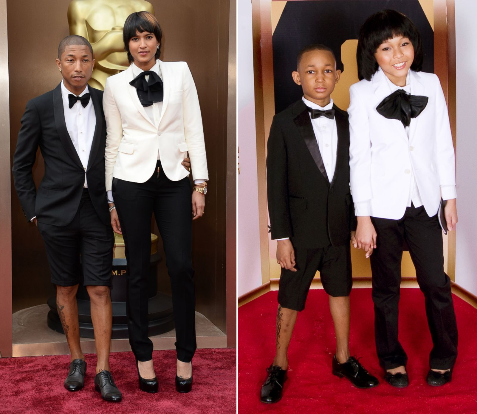 Kids Recreate Red Carpet Moments Photos | Image #3 - ABC News