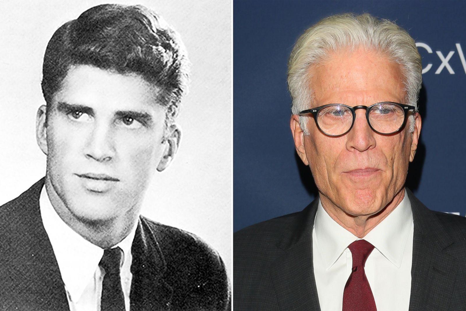 Ted Danson Picture Before They Were Famous Abc News