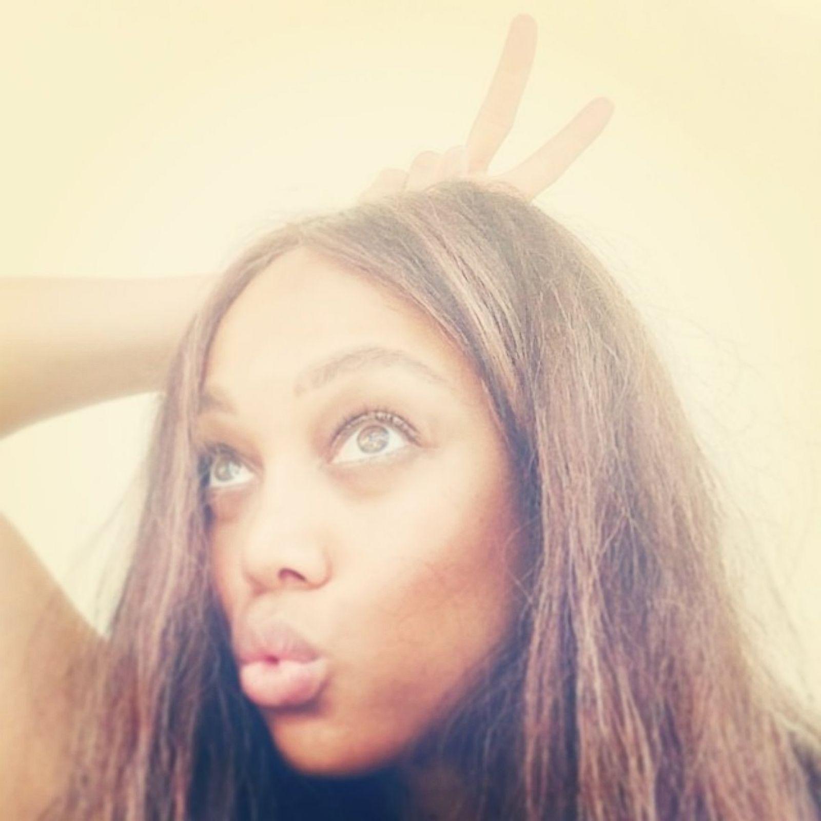 Tyra Banks Without Makeup: Tyra Banks Goes Makeup-Free Picture
