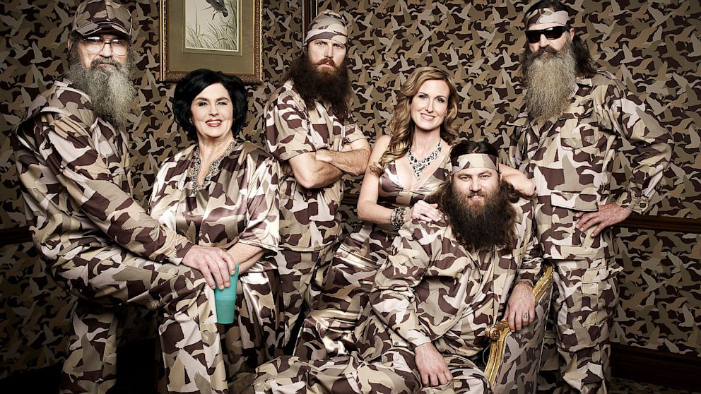 Willie Robertson along with Korie Robertson and the Duck Dynasty clan