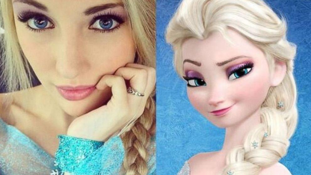 how anna and elsa meet barbie los angeles