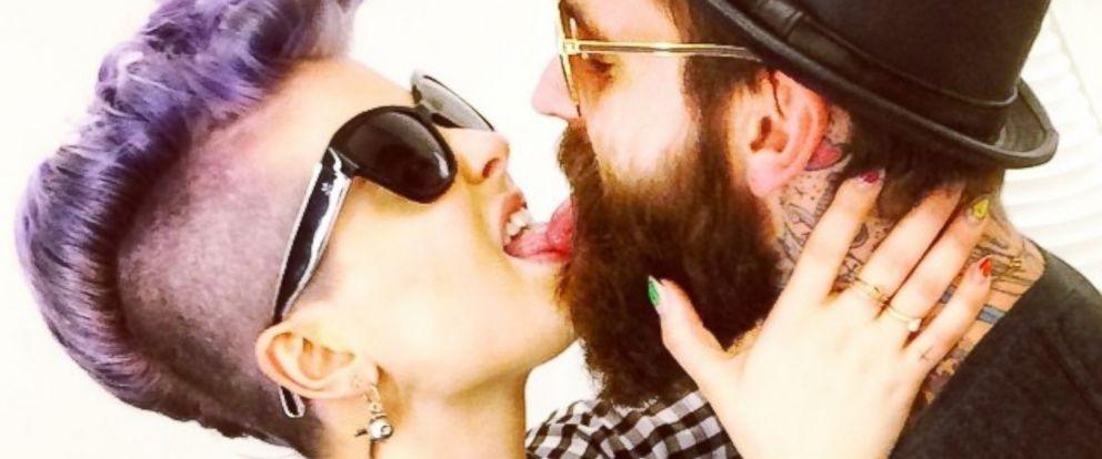 Kelly Osbourne Shares Picture Kissing Model Ricki Hall ...Kelly Osbourne Instagram