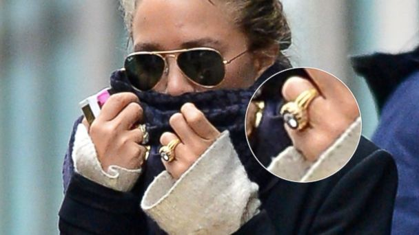 Mary Kate Olsen Steps Out With Huge Rock Amid Engagement