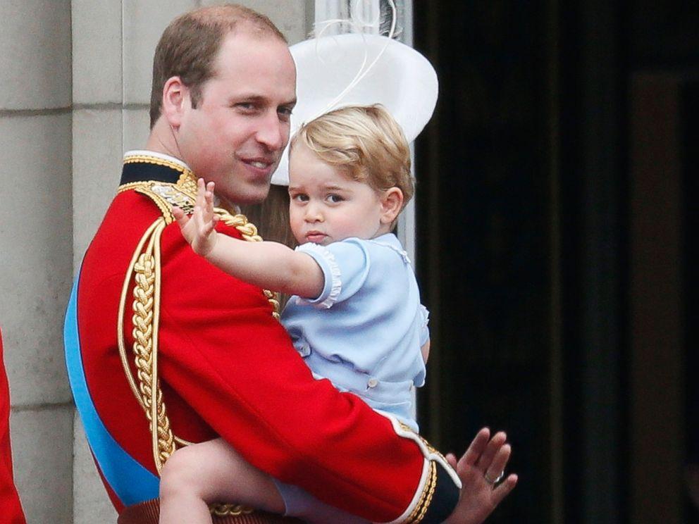Prince George Steals Show At Queen Elizabeth II's Birthday