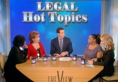 Cuomo's 'View' on Legal Hot Topics Video - ABC News