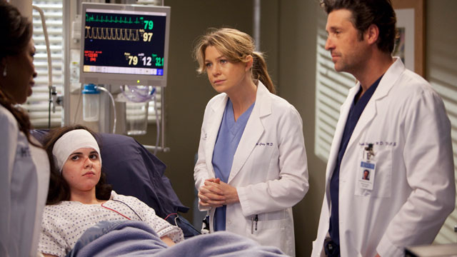 burning series grey s anatomy