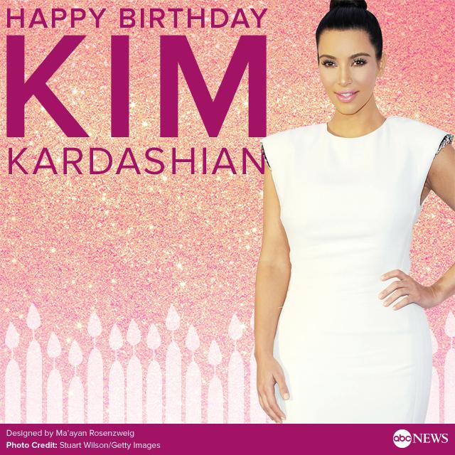 Ilaisa'ane: Happy Birthday Kim Kardashian