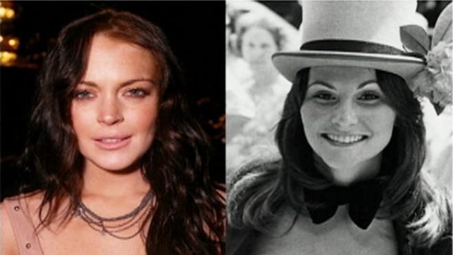 lindsay lohan cast to play linda lovelace video abc news