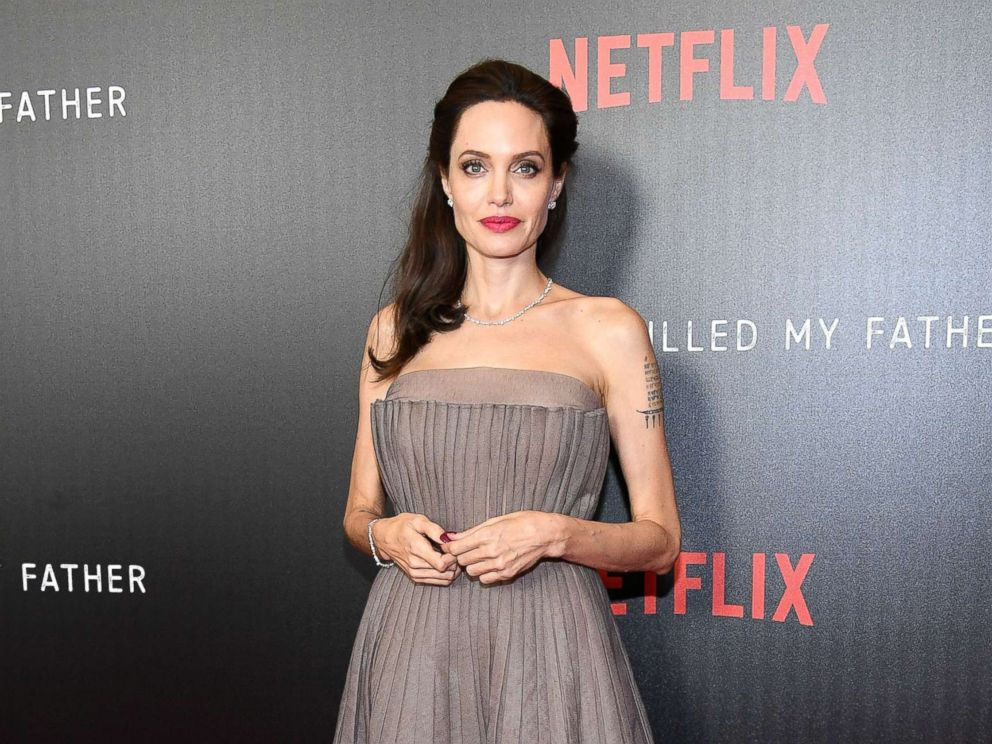 PHOTO: Angelina Jolie attends the First They Killed My Father New York premiere at DGA Theater, Sept. 14, 2017, in New York.