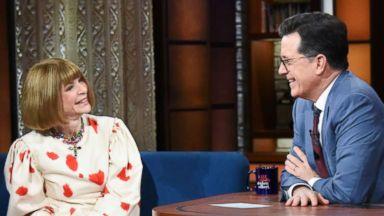 Anna Wintour praises Scarlett Johansson for wearing gown by Georgina Chapman, Harvey Weinstein's estranged wife