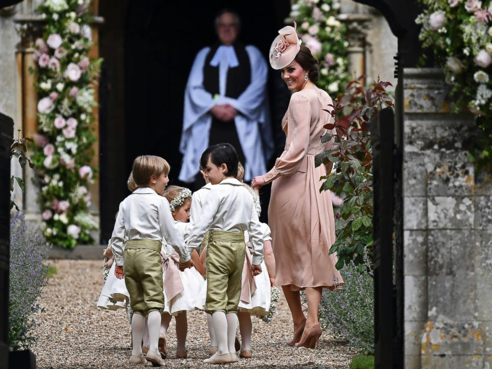 Prince George, Princess Charlotte Take Part In Pippa