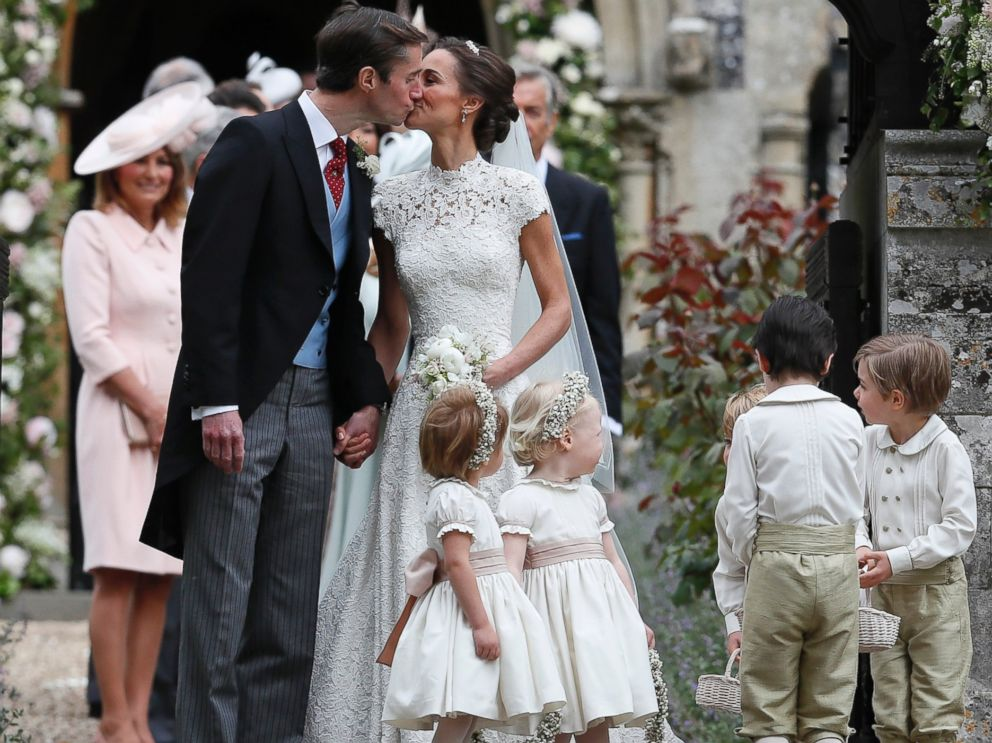 Prince George, Princess Charlotte take part in Pippa ... - photo#2
