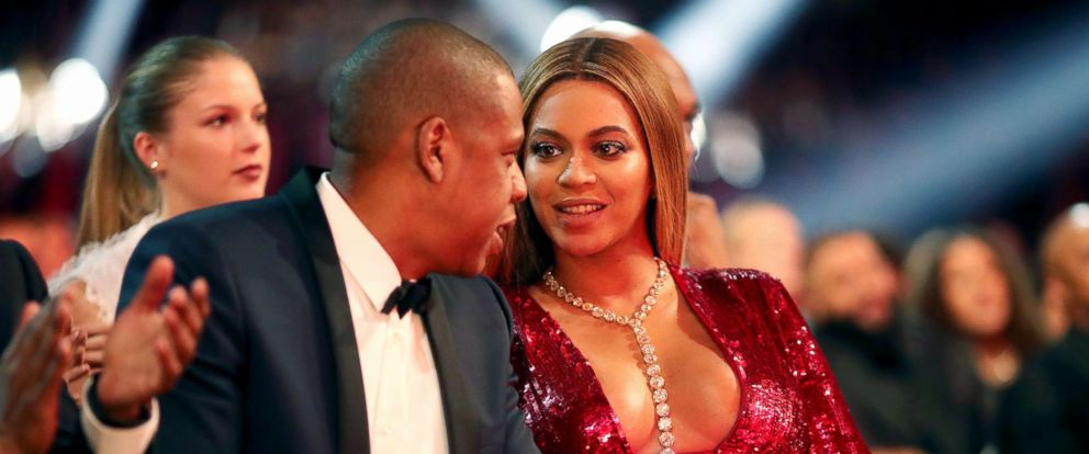 PHOTO: Jay-Z and singer Beyonce during The 59th GRAMMY Awards at STAPLES Center, Feb. 12, 2017, in Los Angeles, Calif.
