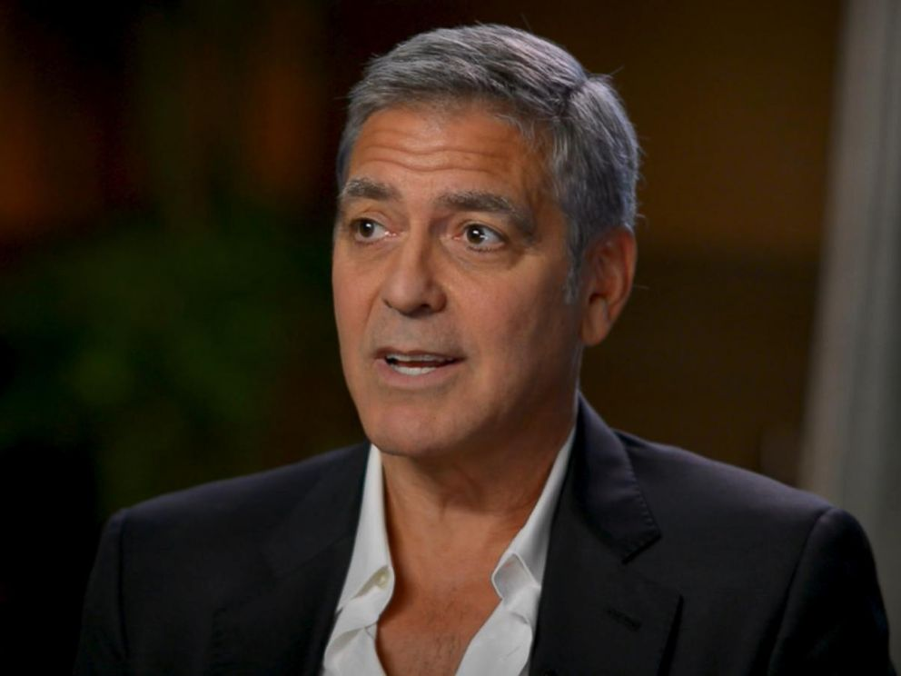 PHOTO: George Clooney responds to the Harvey Weinstein scandal that is rocking Hollywood in an interview with ABC News Michael Strahan.
