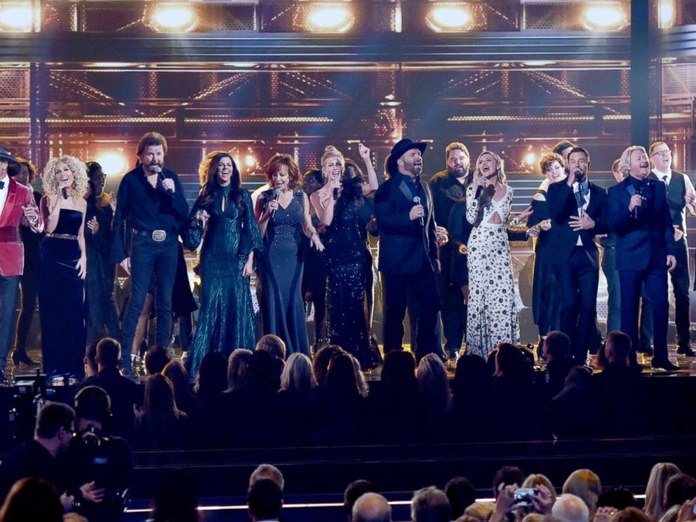 PHOTO: The 51st Annual CMA Awards in Nashville, Nov 8, 2017.