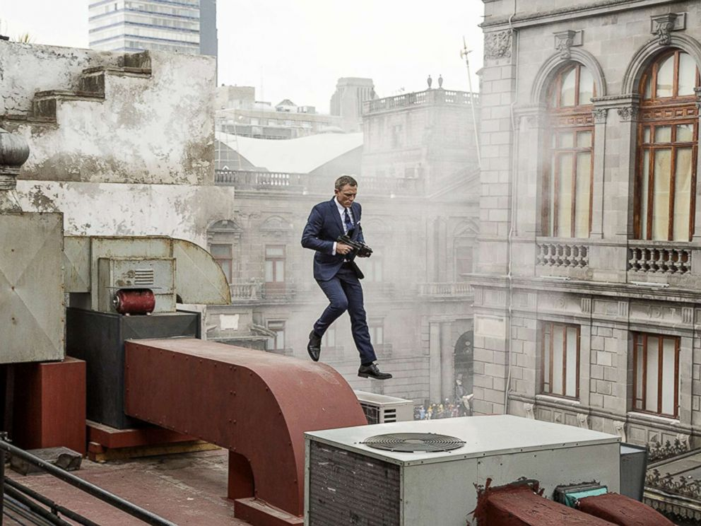 PHOTO: Daniel Craig appears in a Specter scene.