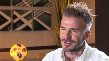 David Beckham launches new Major League Soccer team in Miami