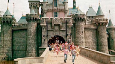 Opening celebrations of Disney theme parks