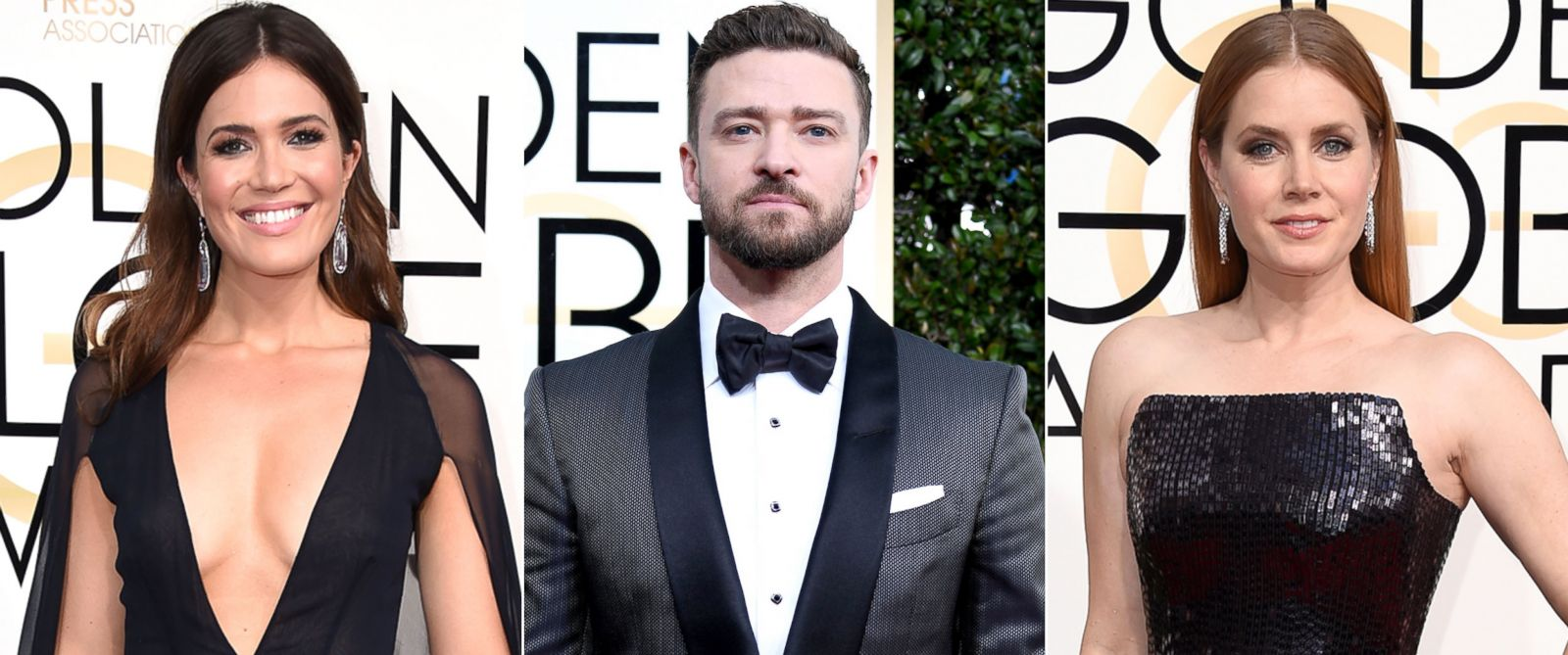 ... Justin Timberlake, and Amy Adams at the 74th Annual Golden