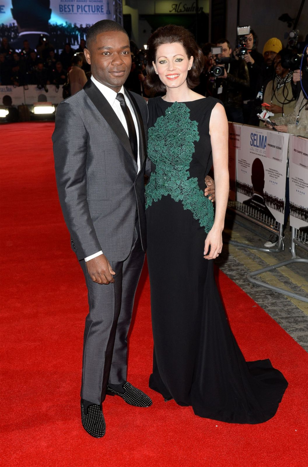 David Oyelowo Hits the Red Carpet with His Wife Jessica ...