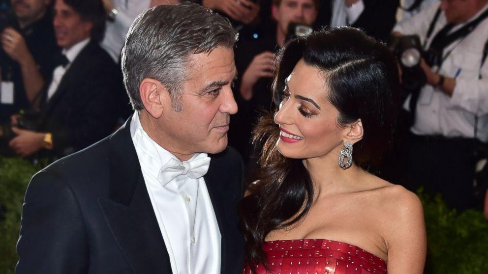 Resultado de imagen para George Clooney, Amal Clooney